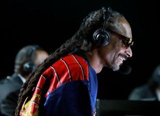 Snoop Dogg at the Mike Tyson Vs. Roy Jones Jr. Thriller Event