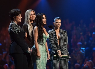 Kardashians at the E! Awards