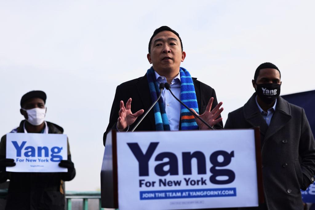 Andrew Yang Announces His New York City Mayoral Run