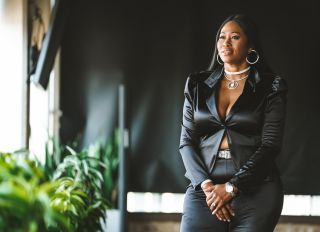 American Gangster: Trap Queens production stills of Perrion Roberts