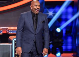 "Steve Harvey on ABC's ""Celebrity Family Feud"" - 2020"