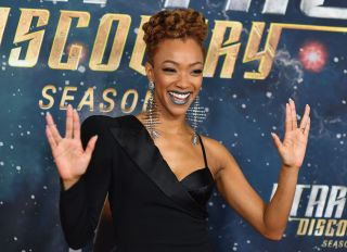Sonequa Martin-Green At The STAR TREK: Discovery Premiere