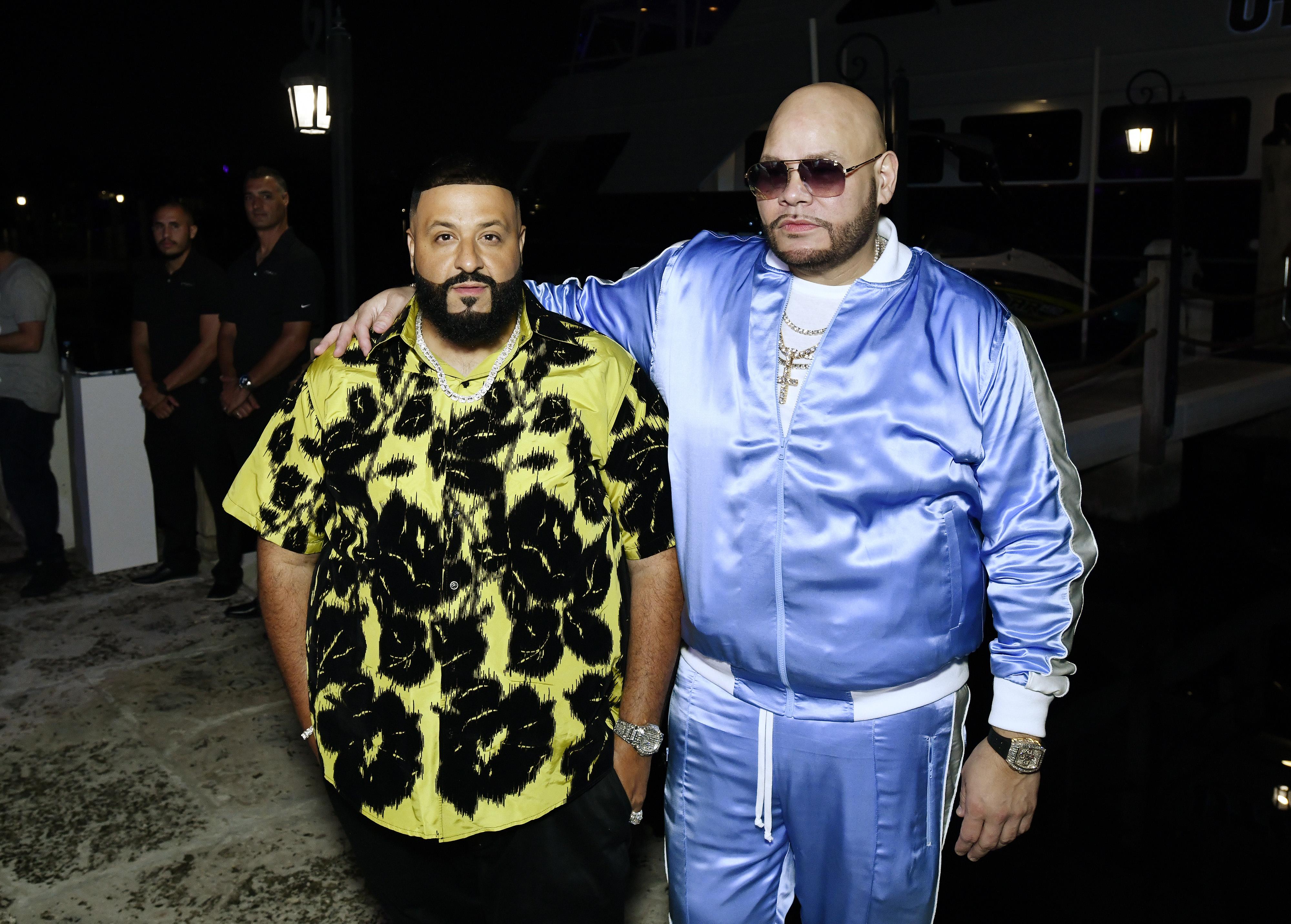Fat Joe & Dj Khaled in Miami