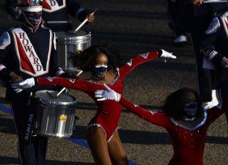 Howard University Drumline Dancers