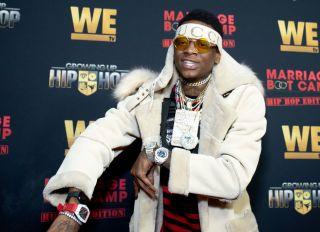 Soulja Boy attends the WE tv Hosts Exclusive Premiere For Hip Hop Thursdays