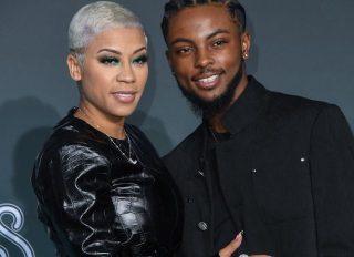 Keyshia Cole and Niko at the 2019 Soul Train Awards