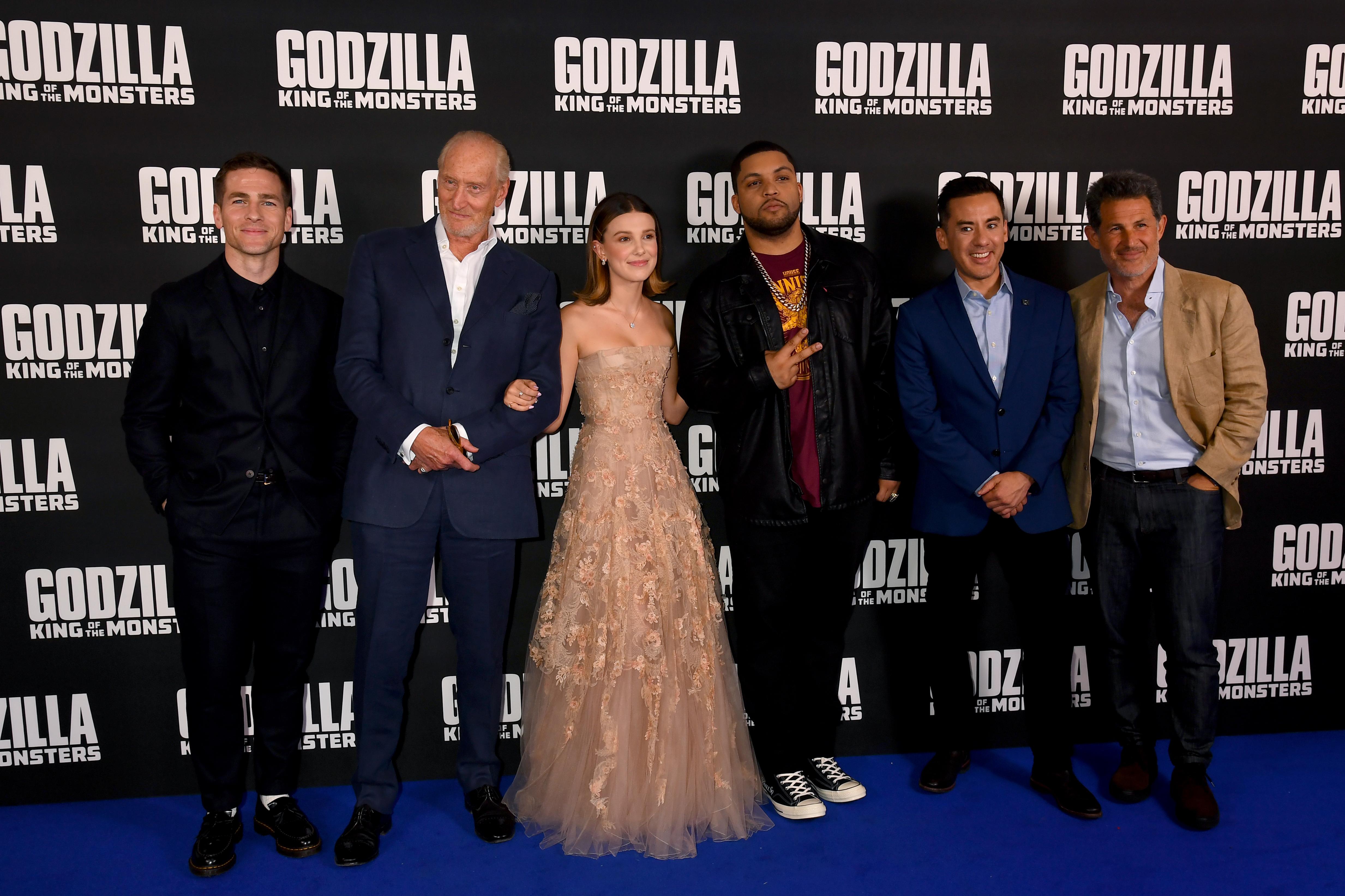 Cast Of Godzilla Attends Movie Premier