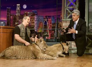 Doc Antle On The Tonight Show with Jay Leno
