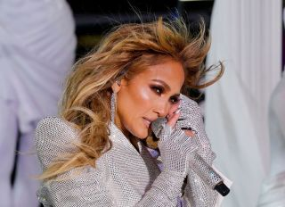 J.Lo Performs At The 2021 Times Square New Year's Eve Celebration