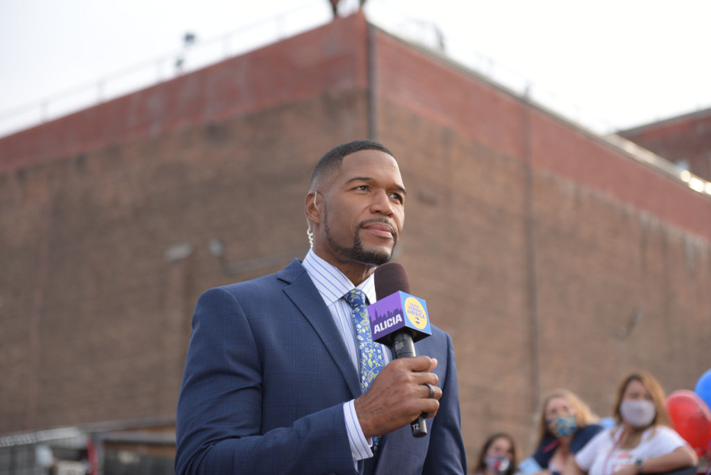 Get Well: Michael Strahan Tests Positive For COVID-19, Currently Precautionary Quarantining