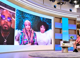 Da Brat and Jesseca Dupart appear on the Tamron Hall Show