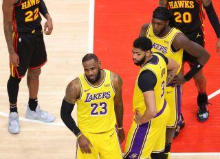 Los Angeles Lakers v Atlanta Hawks