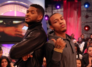 "Usher and Bow Wow on BET's ""106 & Park"""
