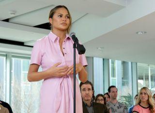 Chrissy Teigen on Mr. Mayor Season 1