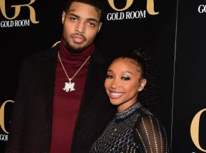 Bandhunta Izzy and Zonnique attend the All Black Birthday Celebration