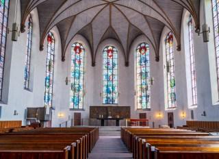 St Catherine's church, Frankfurt, Germany