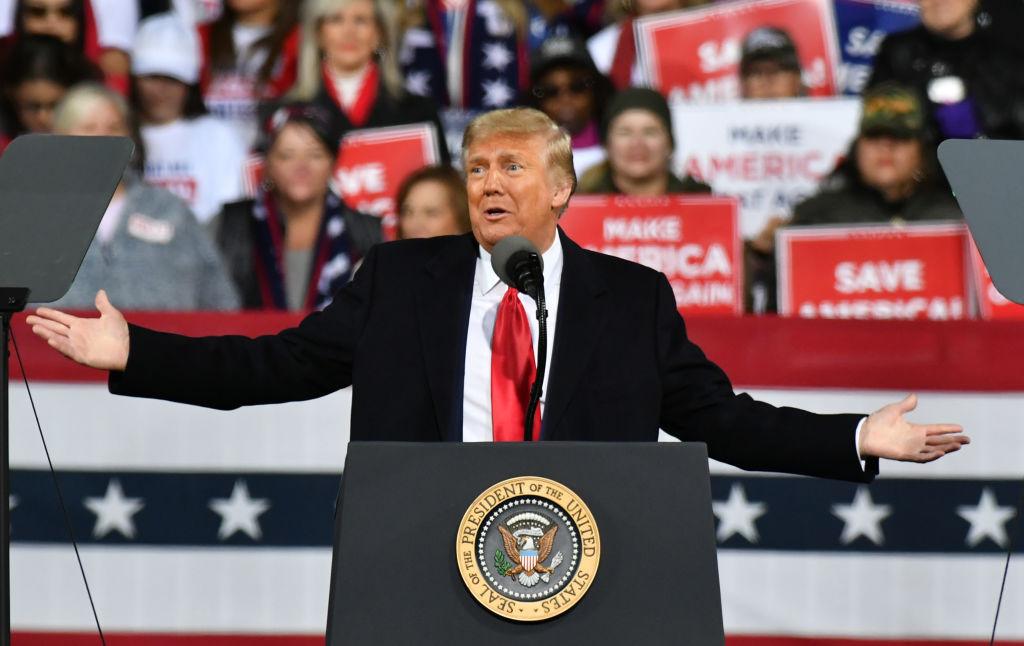 U.S. President Trump's rally in Valdosta, GA