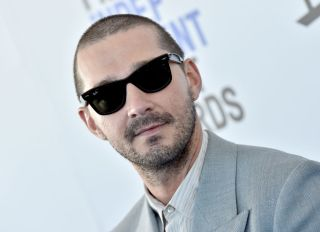 Shia LaBeouf at the 2020 Film Independent Spirit Awards