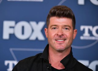 Robin Thicke on FOX Winter TCA All Star Party