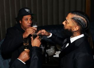 Nipsey Hussle Grammy Celebration