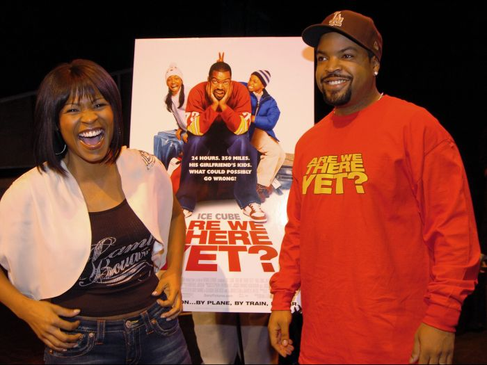Nia Long and Ice Cube are on hand at the Apollo Theater
