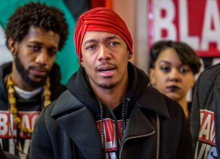 Nick Cannon joined Hawk Newsome from Black Lives Matter in...