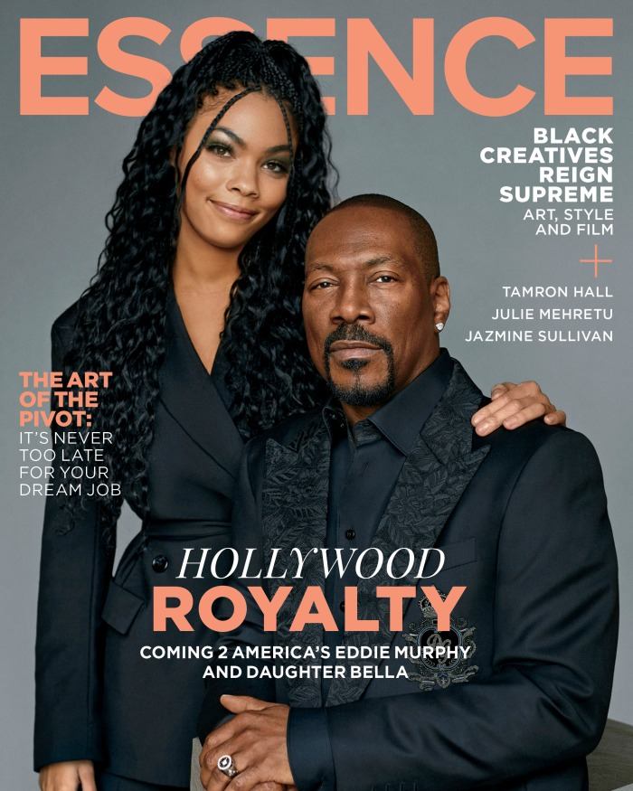 Coming 2 America stars cover ESSENCE Magazine's March/April issue