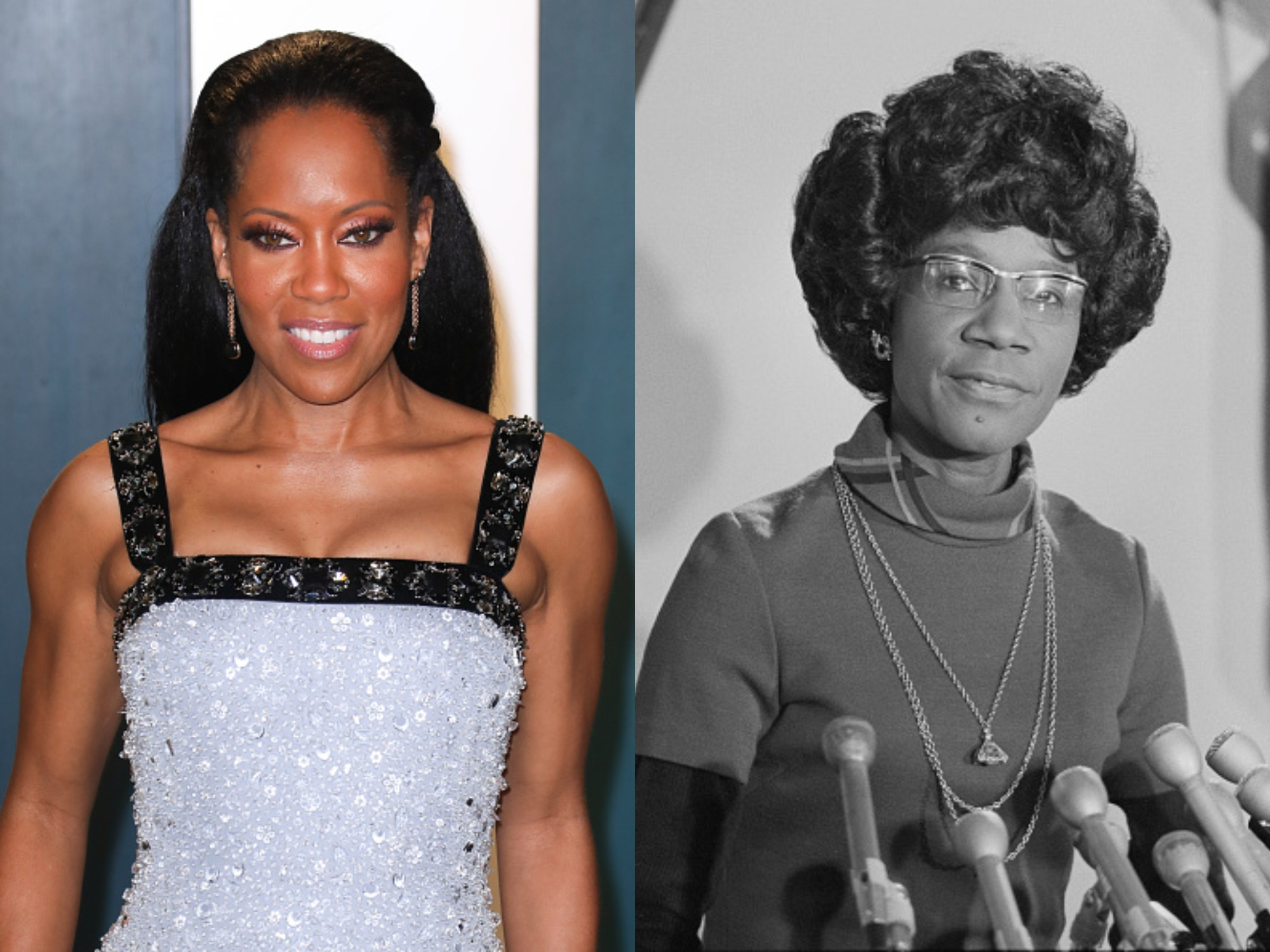 Regina King Shirley Chisholm