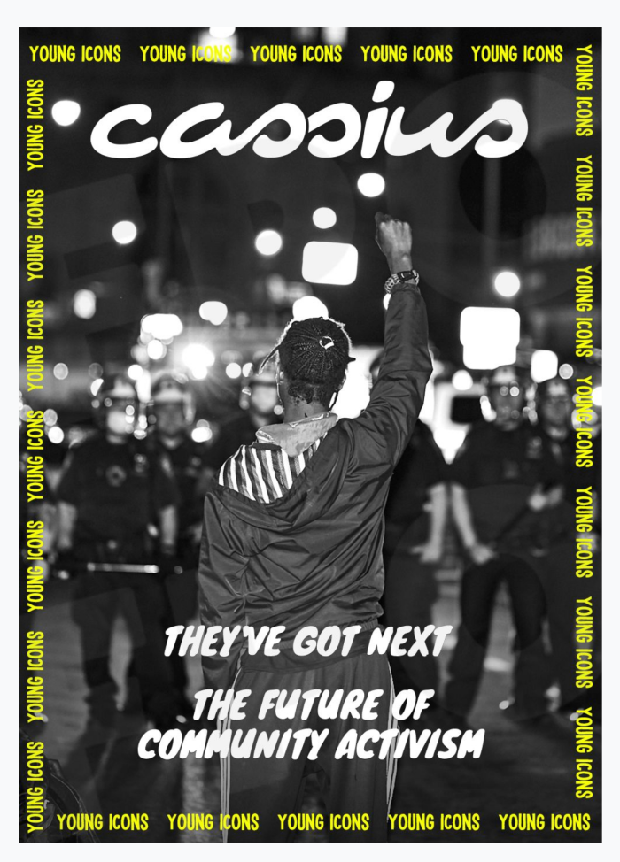 CASSIUS Cover, 2021 Young Icons Assets