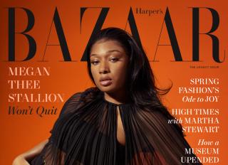 Megan Thee Stallion x Harper's Bazaar