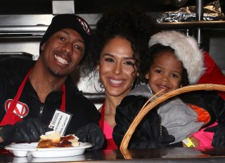 Nick Cannon and Brittney Bell