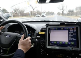 Nassau County Police traffic stop computer system