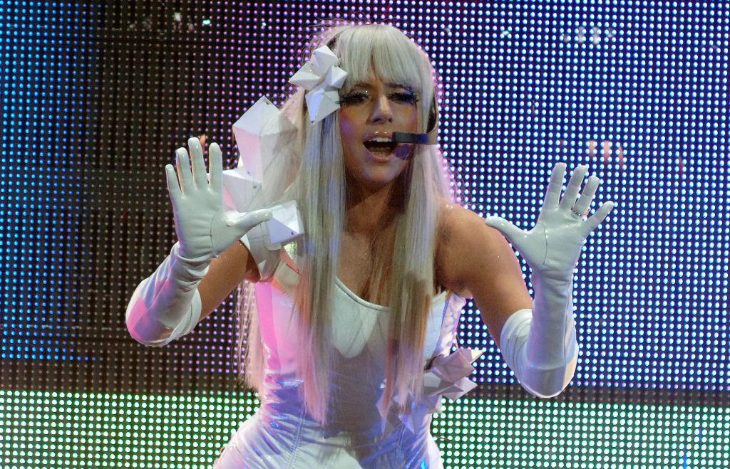 Lady Gaga In Concert - San Jose CA 2008