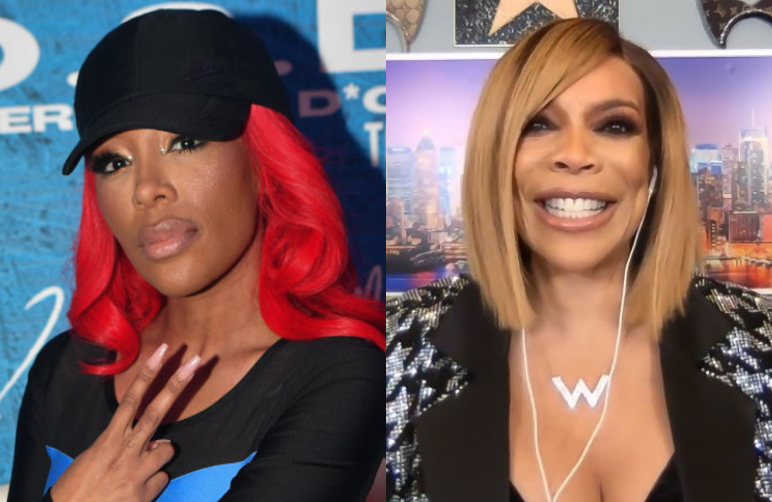 Wendy WIlliams Says K. Michelle Left Silicone On Idris ...