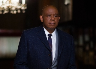 Godfather of Harlem production still featuring Forest Whitaker