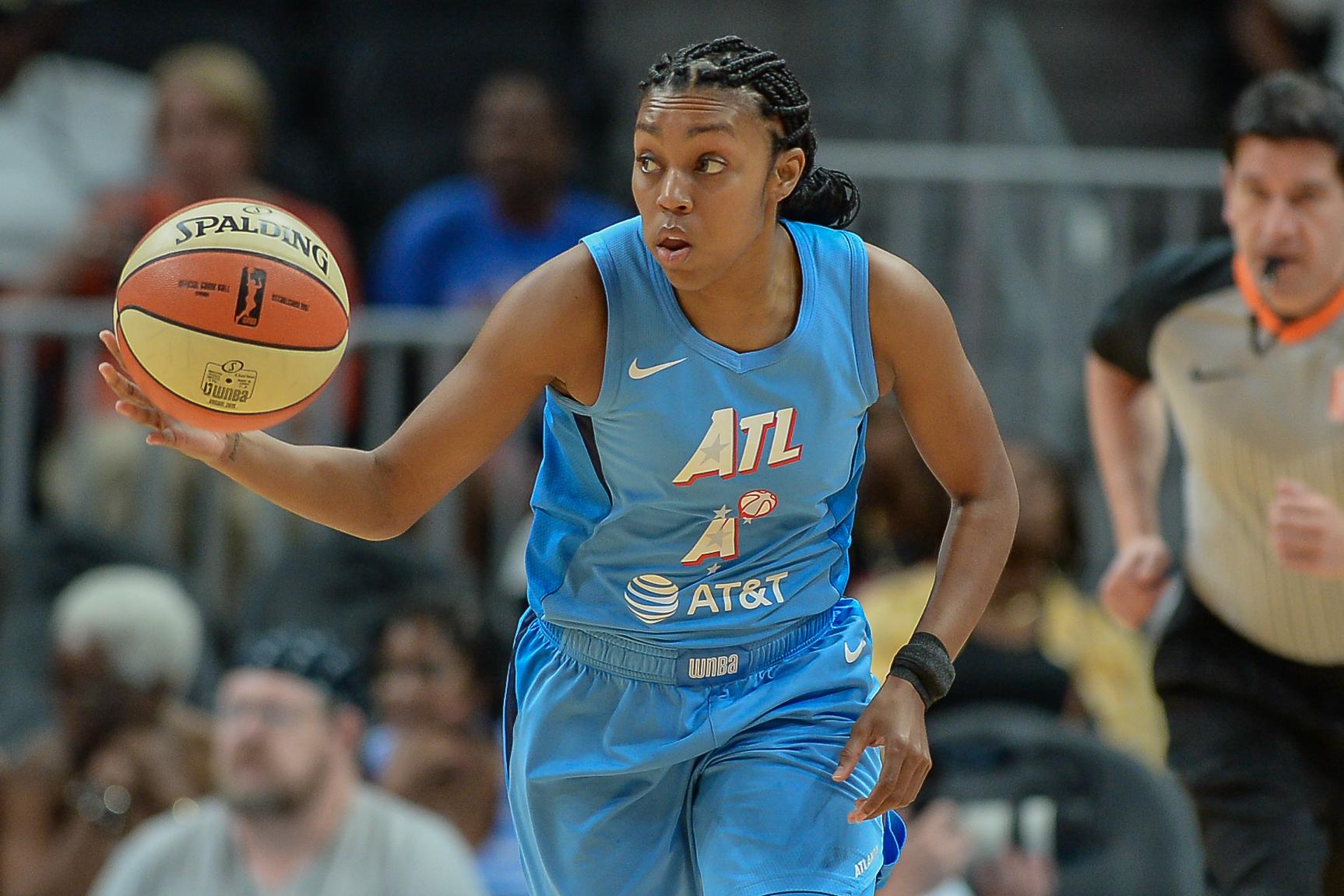 WNBA: SEP 05 Las Vegas Aces at Atlanta Dream
