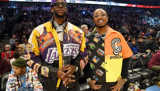 2 Chainz & Lil Baby Will Face Quavo & Jack Harlow For Bleacher Report's Open Run Basketball Game Supporting HBCUs