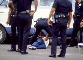 African-American Arrested