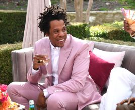 Jay-Z at the 2020 Rock Nation Brunch