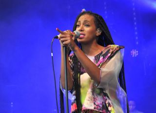 Solange at Glastonbury Festival 2013 - Day 2