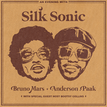 Silk Sonic Bruno Mars Anderson .Paak Leave The Door Open