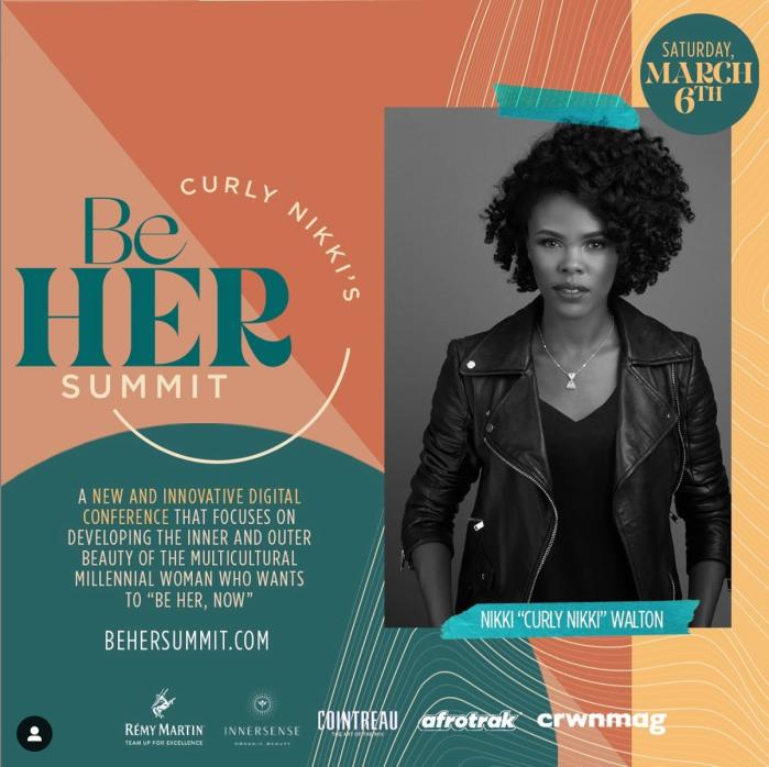 Curly Nikki Be Her Summit