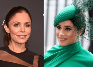 Meghan Markle and Bethenny Frankel