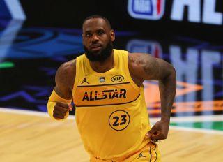 LeBron James 2021 NBA All-Star Game