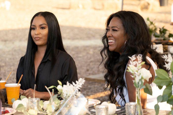 LaToya Ali and Kenya Moore