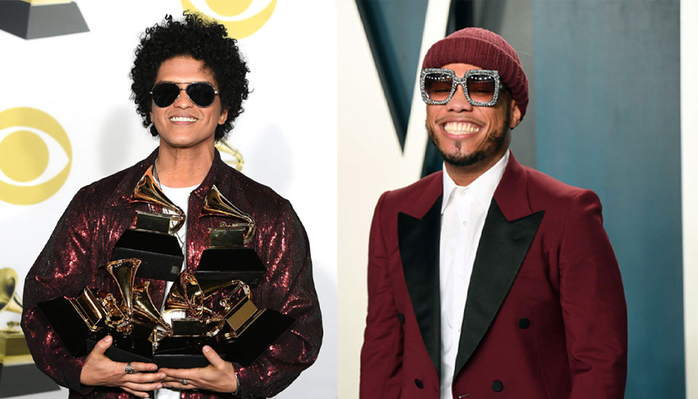 Anderson .Paak and Bruno Mars are Silk Sonic