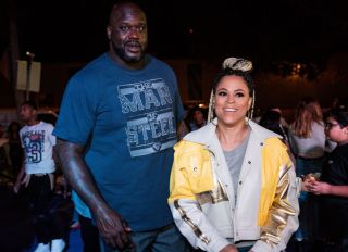 Shaq and Shaunie Oneal