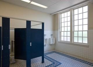 Male Bathroom of a School
