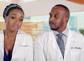 Dr. Contessa and Dr. Scott