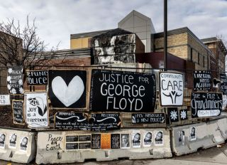Justice For George Floyd Memorial